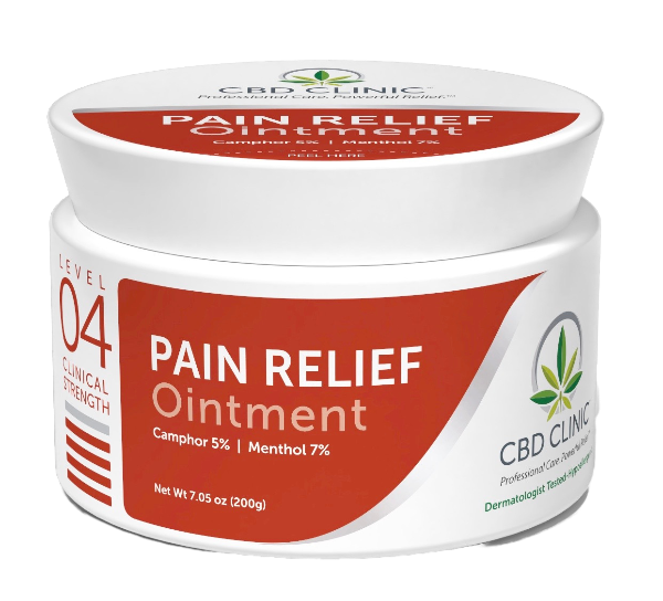 CBD Clinical Strength Pain Relief Ointment- Level 4
