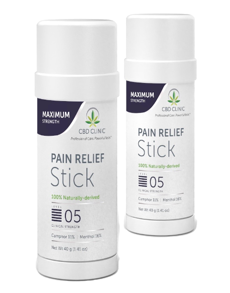 Clinical Strength-Level 5 Pain Relief Stick