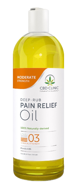 Clinical Strength Pain Relief Oil- Level 3