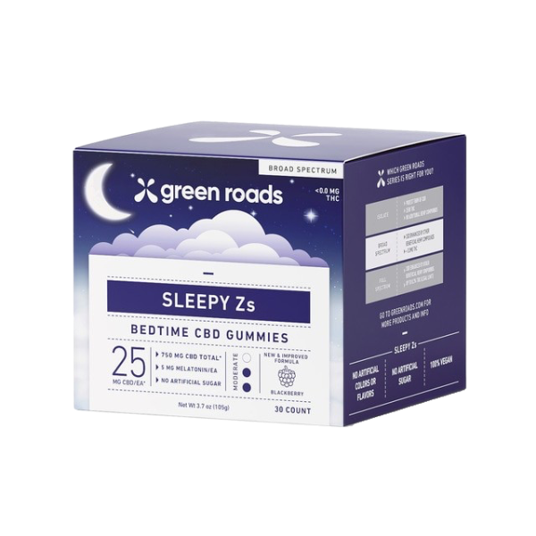 Sleepy Z's CBD Gummies - 750mg