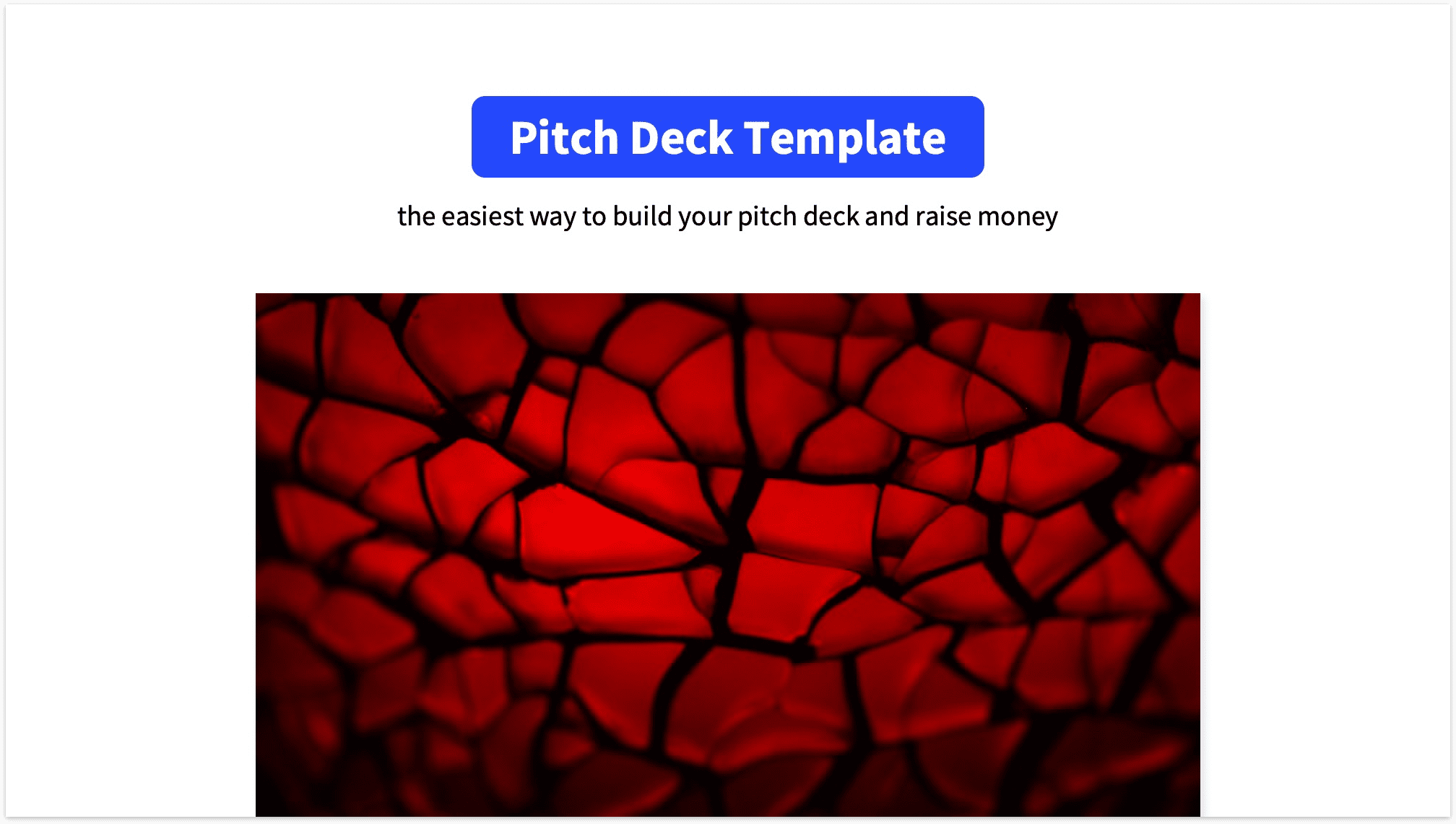 Pitch Deck Title Slide Reading Version with Mockup