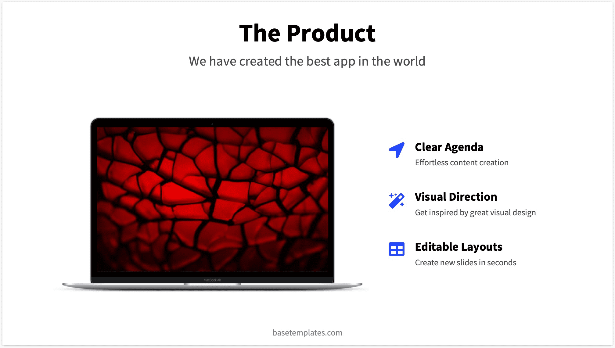 Product Slide Pitch Deck