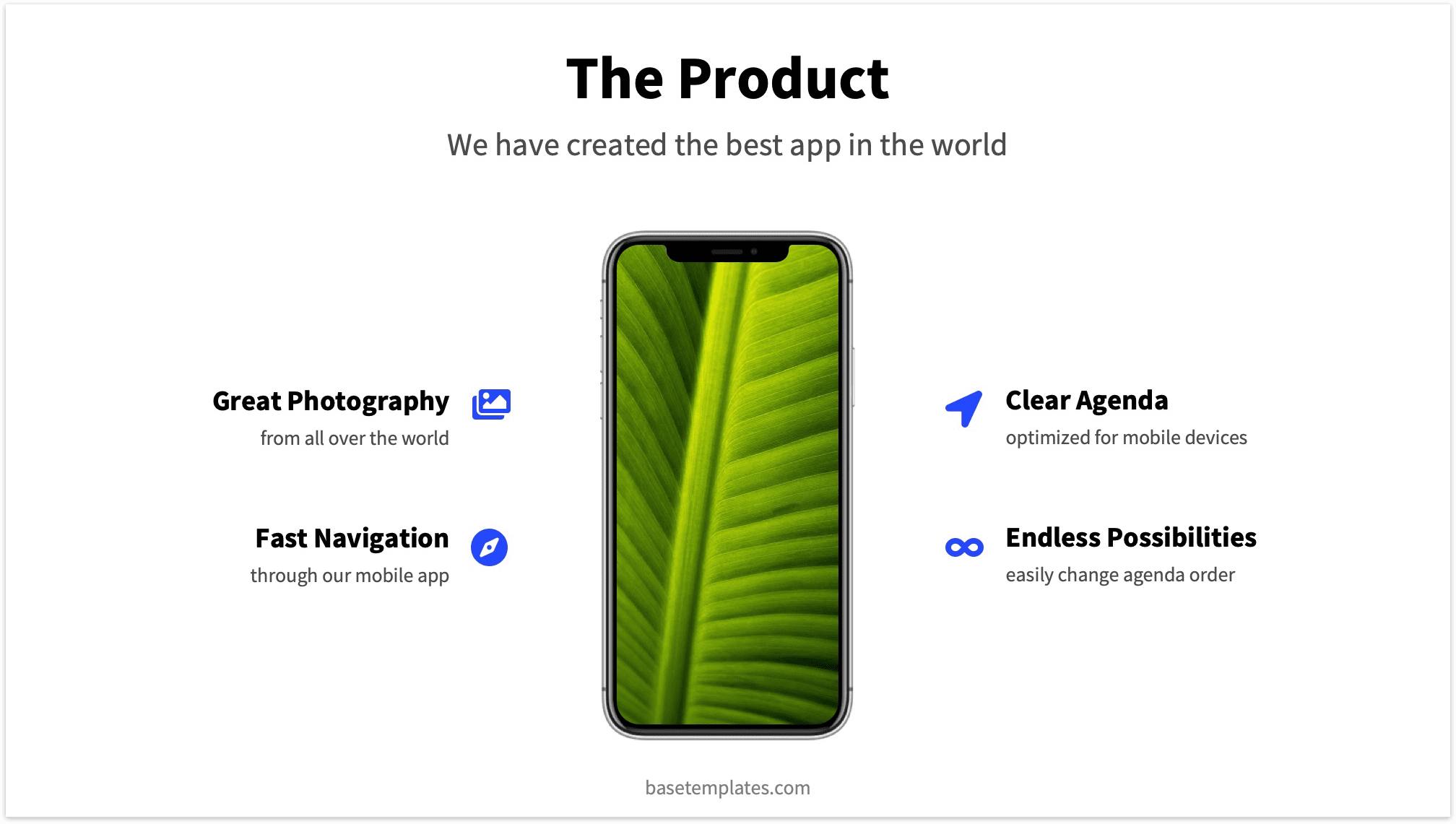 App on Product Slide Pitch Deck