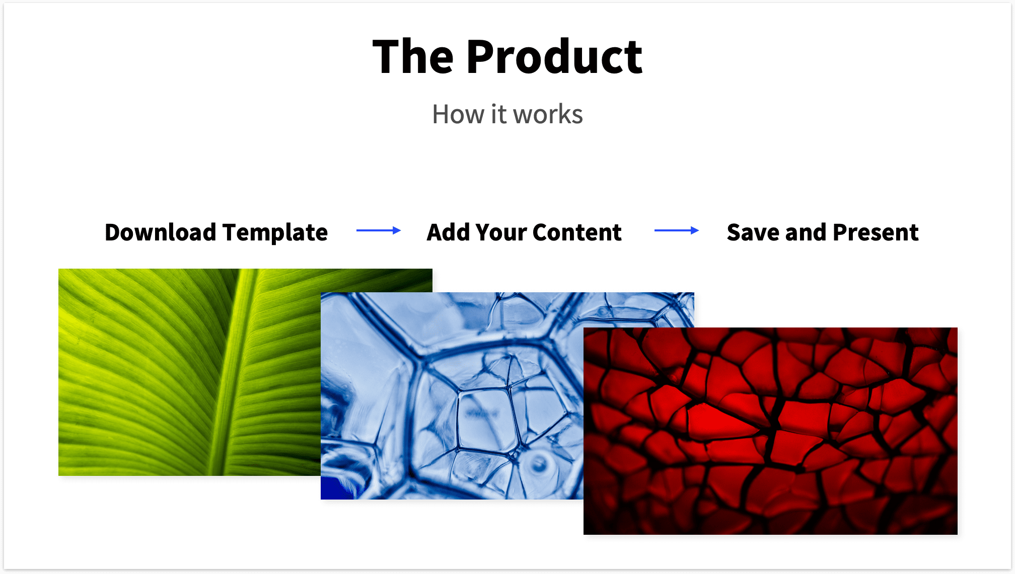 3 Step Product Slide Pitch Deck