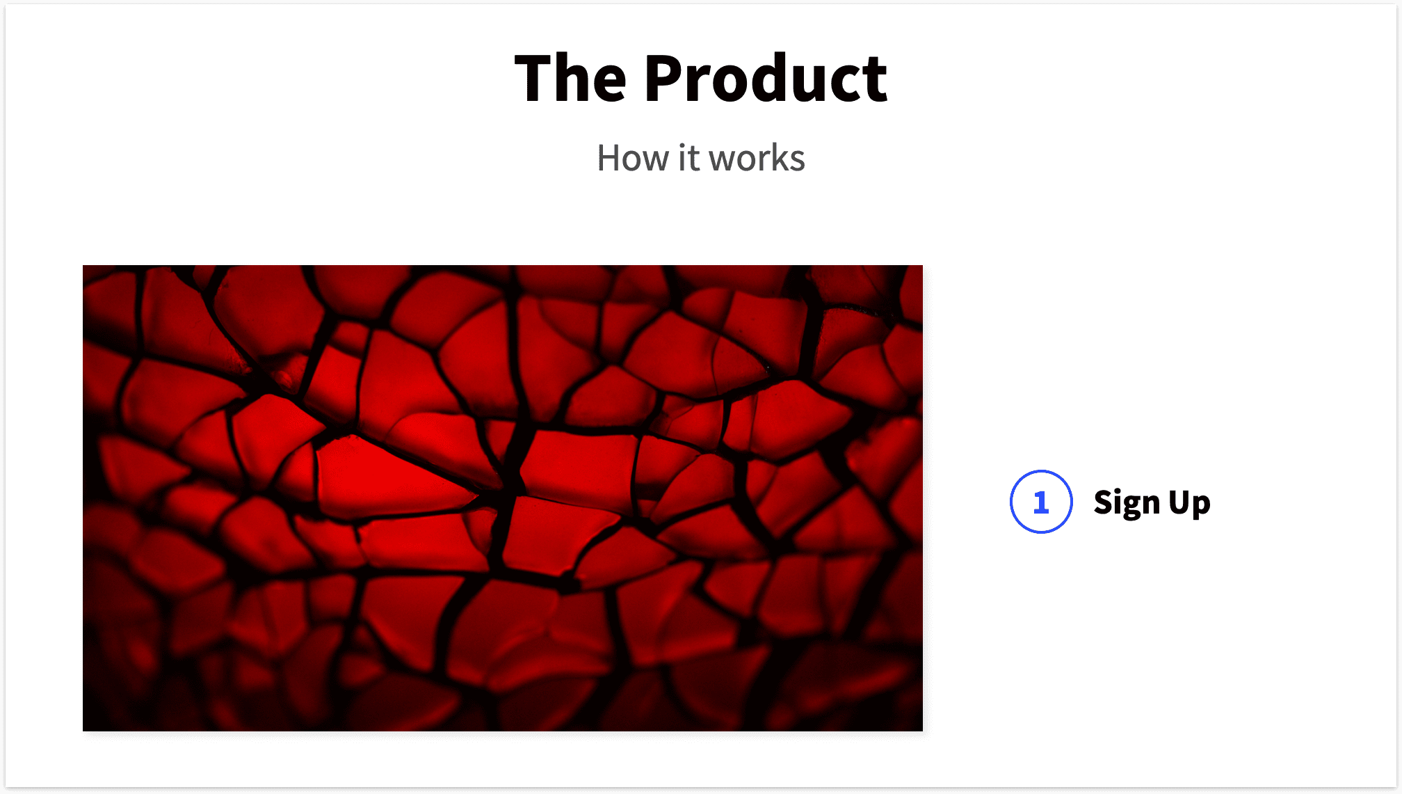 How it works Product Slide Pitch Deck