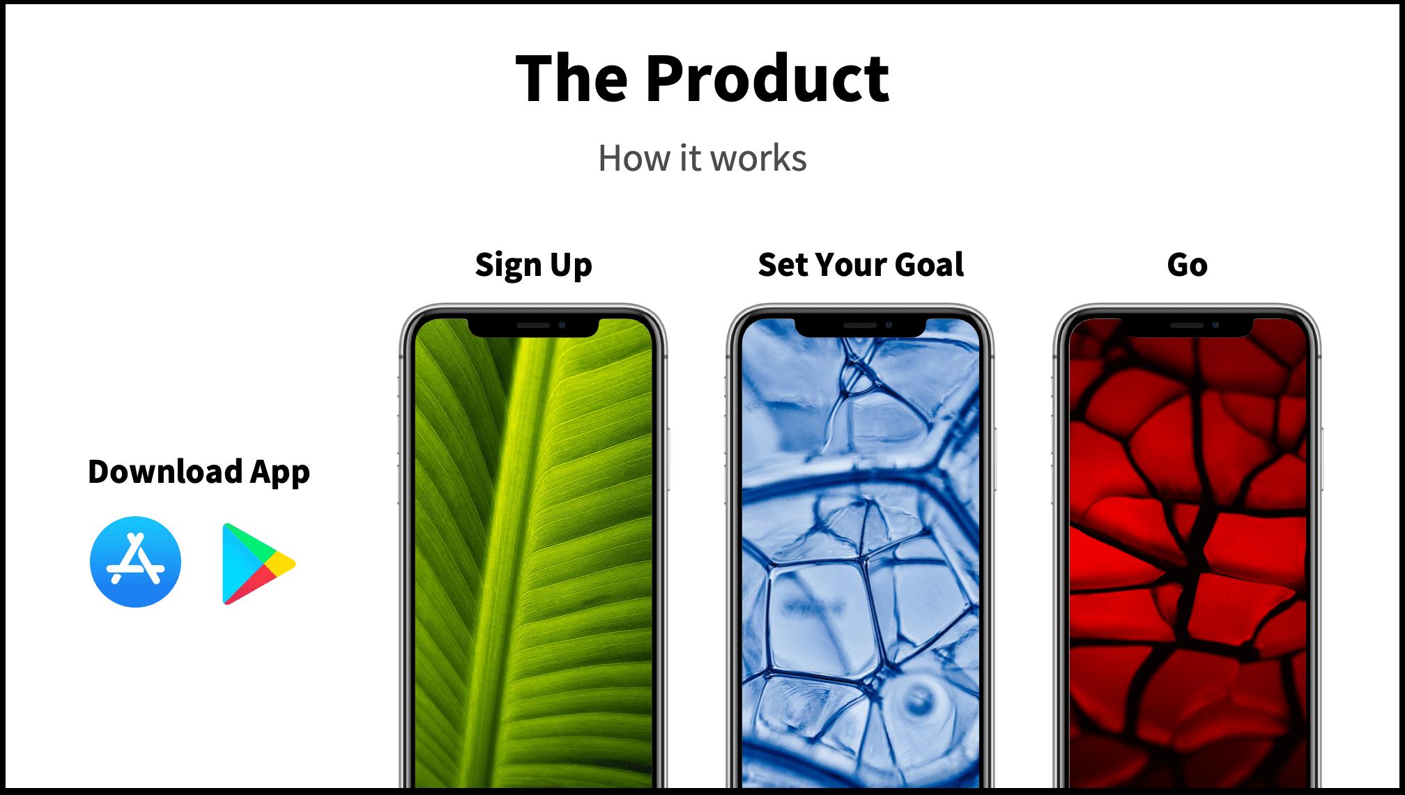App Flow Pitch Deck Slide Product