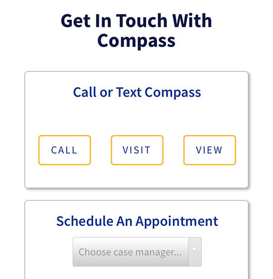 Contact & Appointment Scheduling
