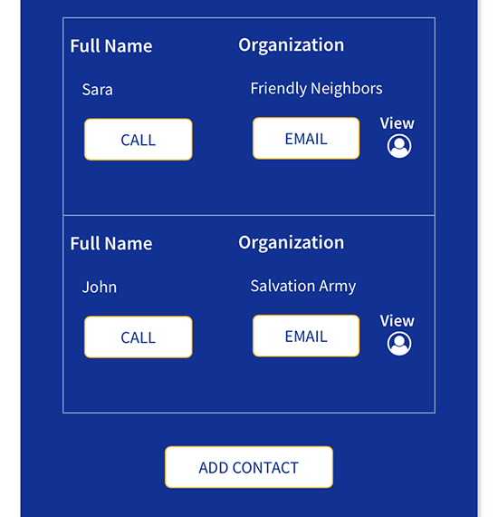 Save contacts & track calls & emails
