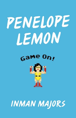 The cover contains retro video game player who presumes to be Penelope Lemon