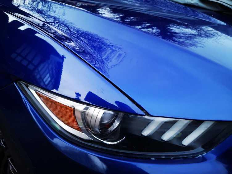 Mustang Scratch Repair Complete
