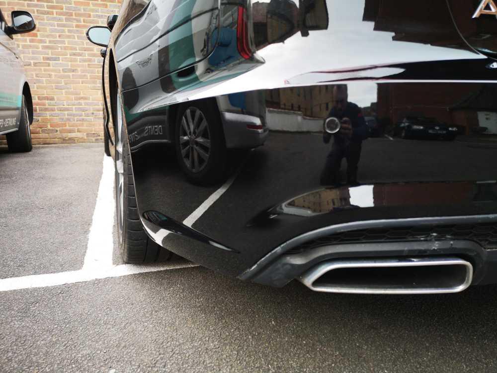 Audi A6 Bumper Scratch Completed