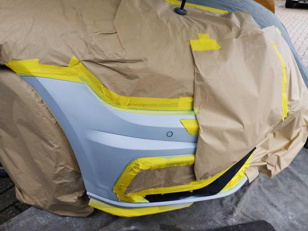 VW Golf R Mid Repair