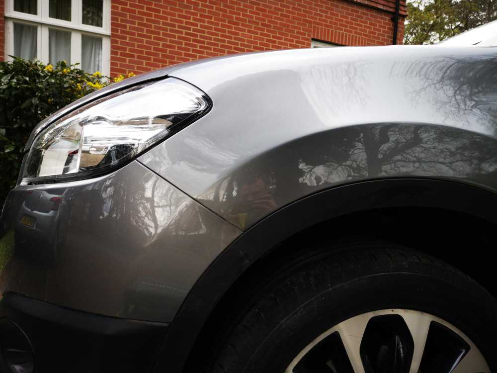 Nissan Dent Completed Repair
