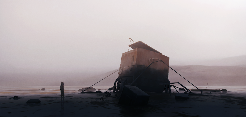 key art for Playdead's new game