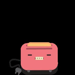 toaster gif