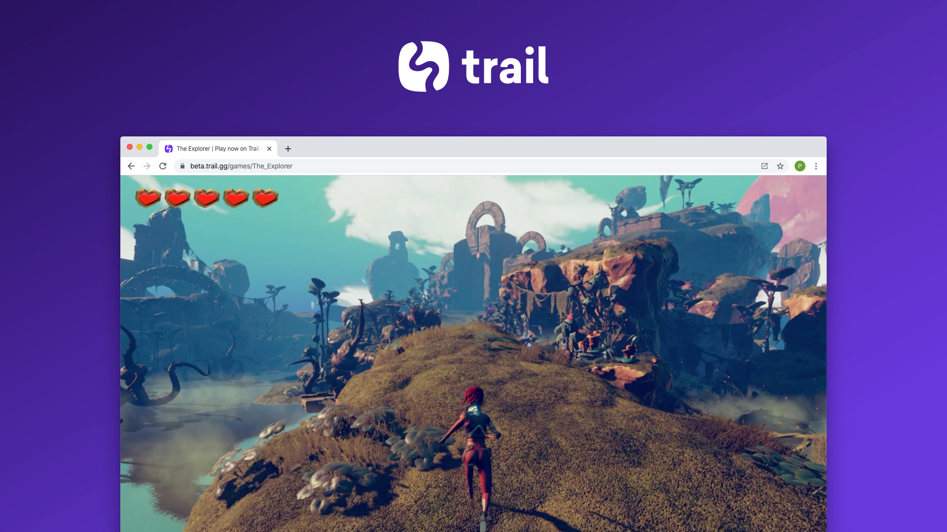 image of a game being played in a browser