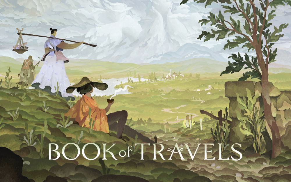 cover art for book of travels