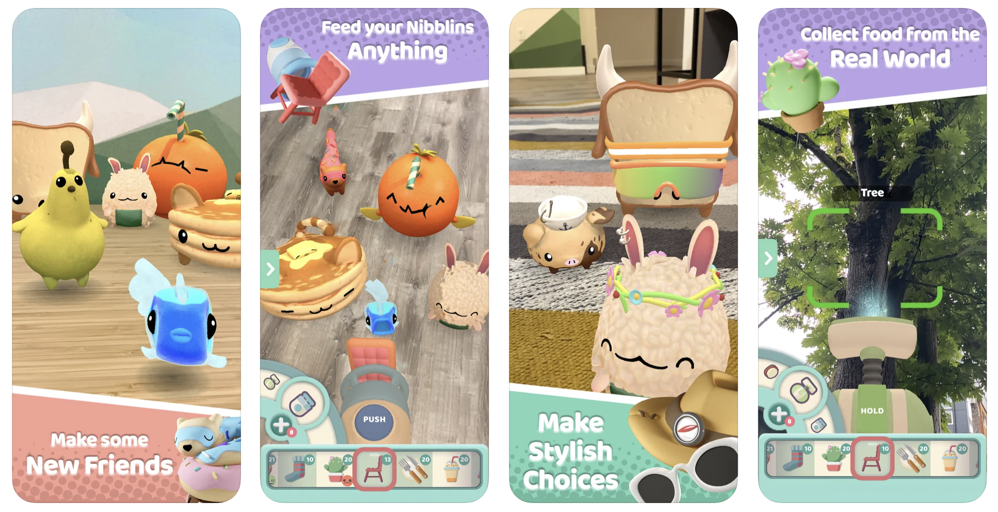 nibblity app store images