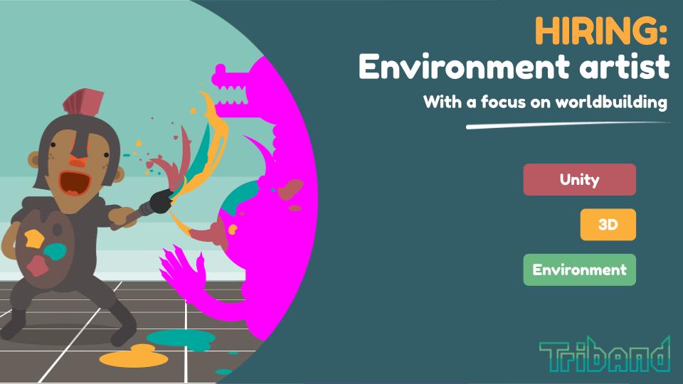 hiring: environment artist