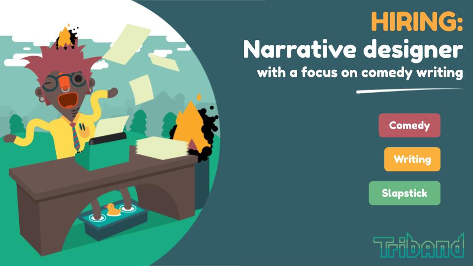 hiring: narrative designer