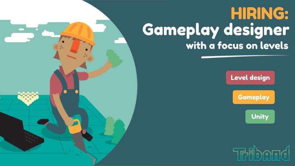 hiring: gameplay designer