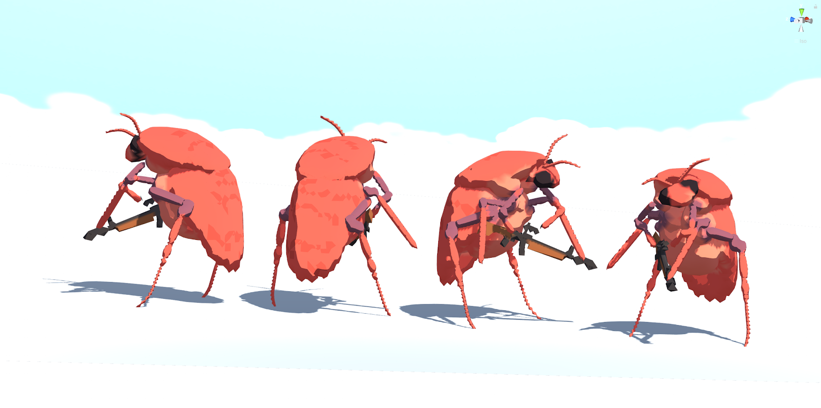 Humanoid Insects