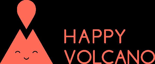 happy vocano logo