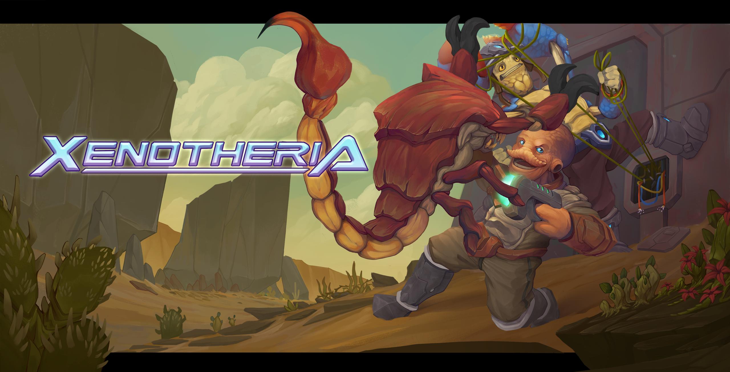 xenotheria key art
