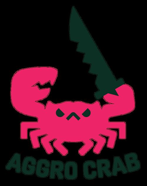aggro crab logo