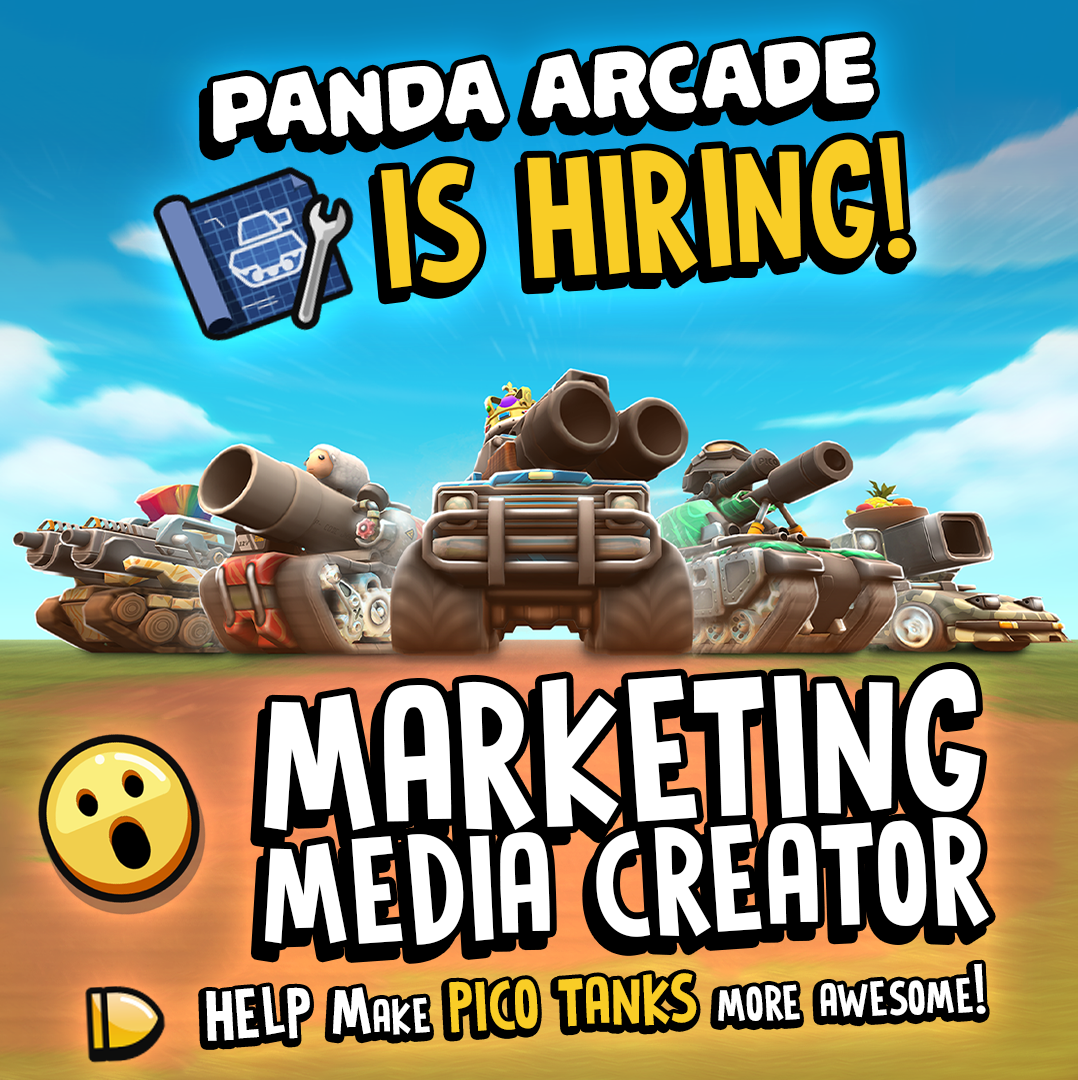 Panda Arcade is hiring