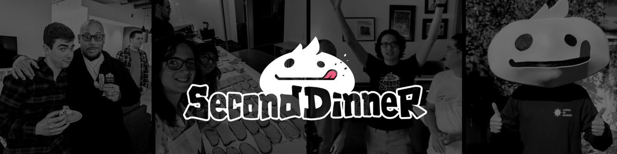 second dinner banner