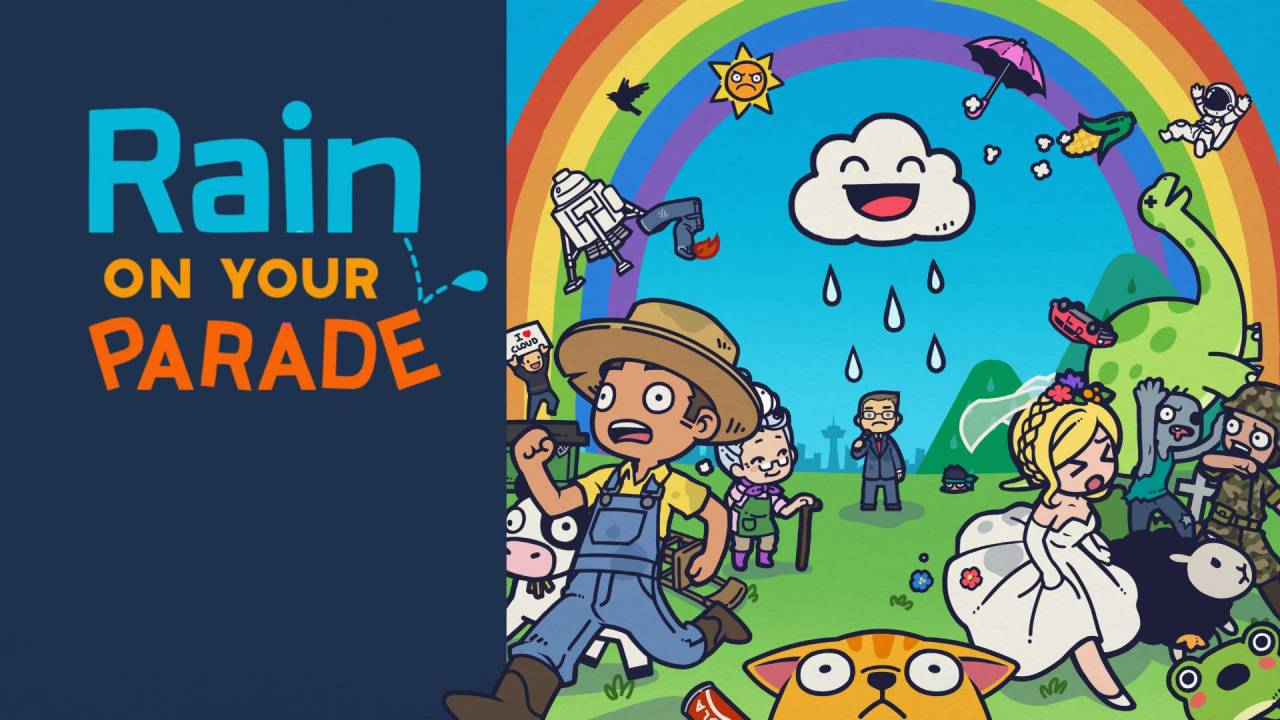 rain on your parade banner
