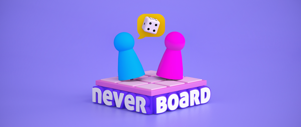 neverboard banner
