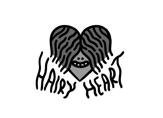 hairy heart games logo