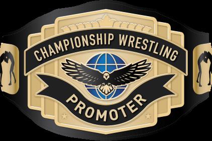 championship wrestling promoter logo
