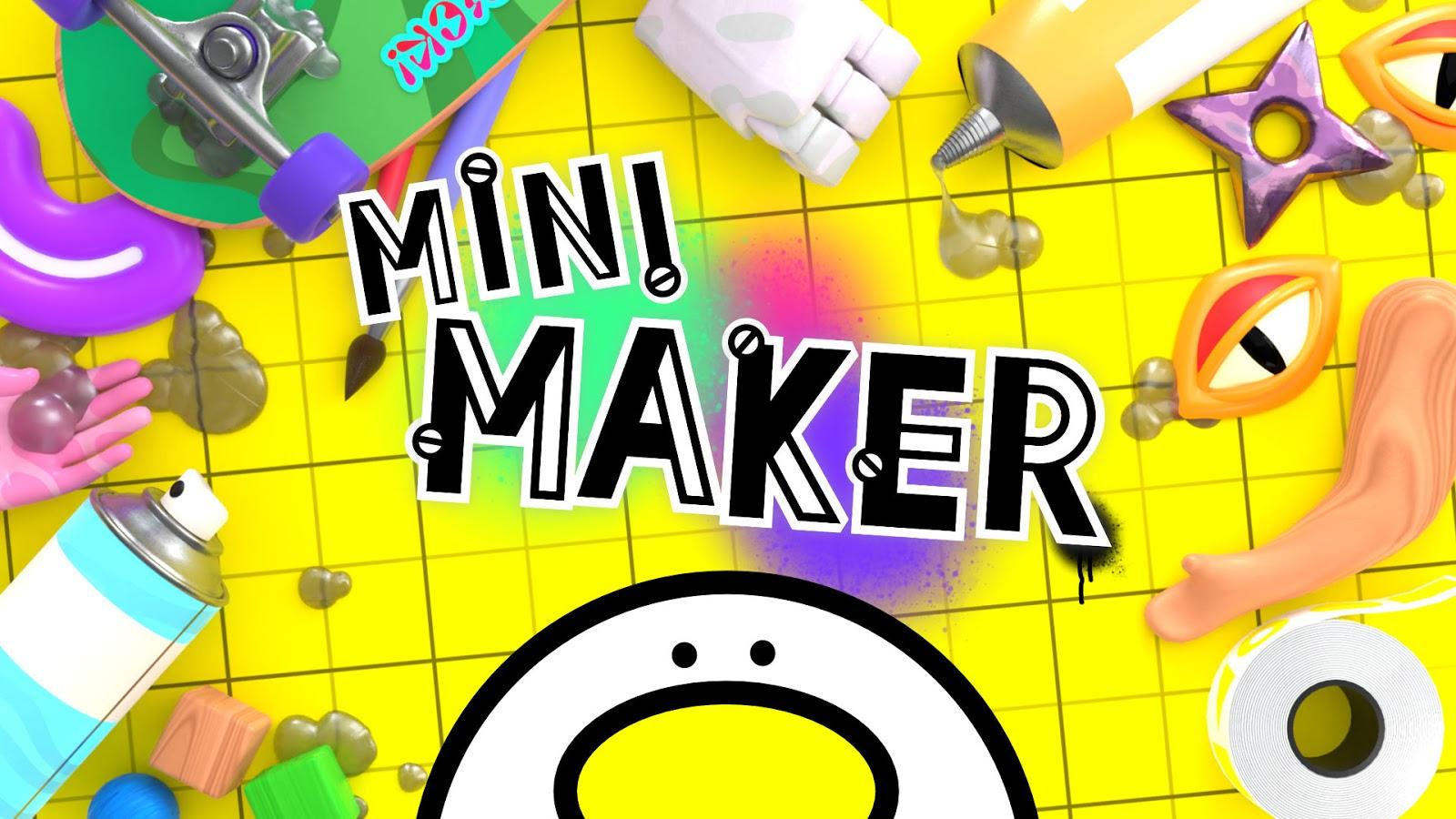 mini maker title art