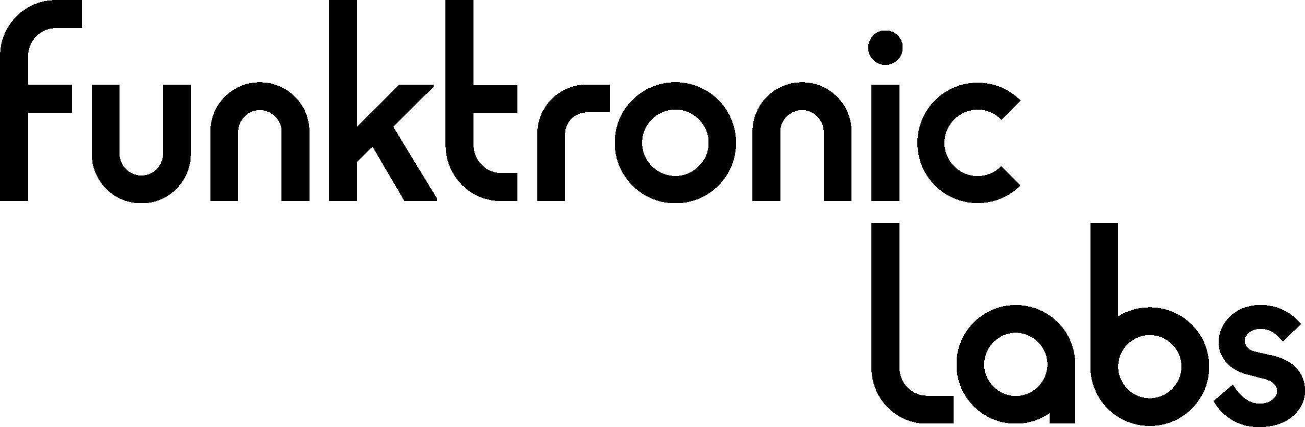 funktronic labs logo type