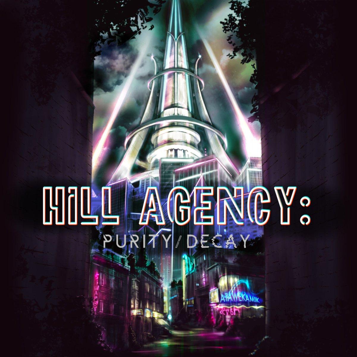 hill agency key art