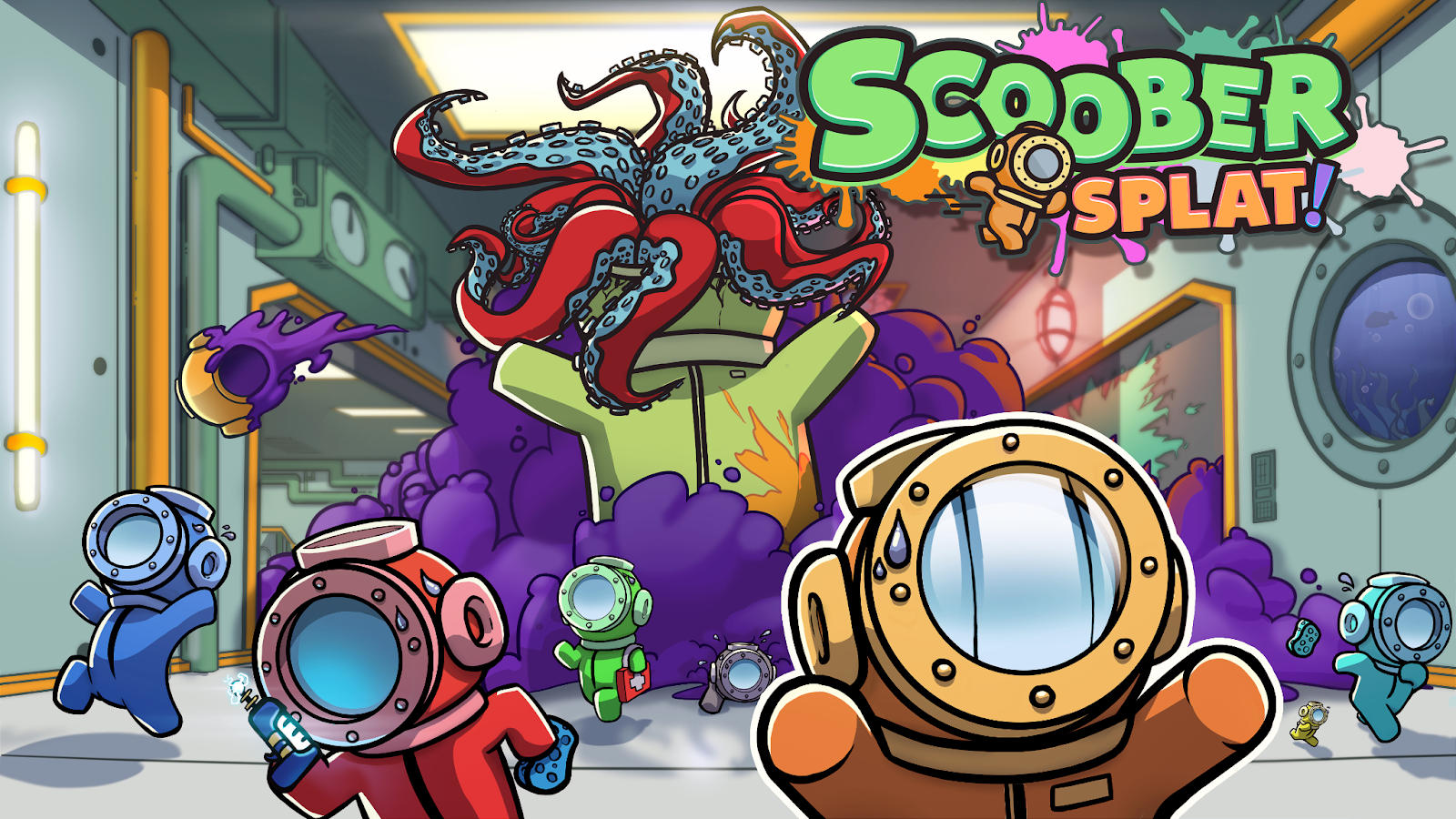 scoober splat key art