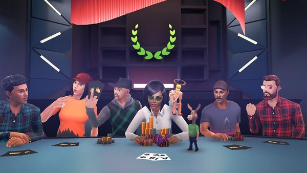 Poker VR Key Art