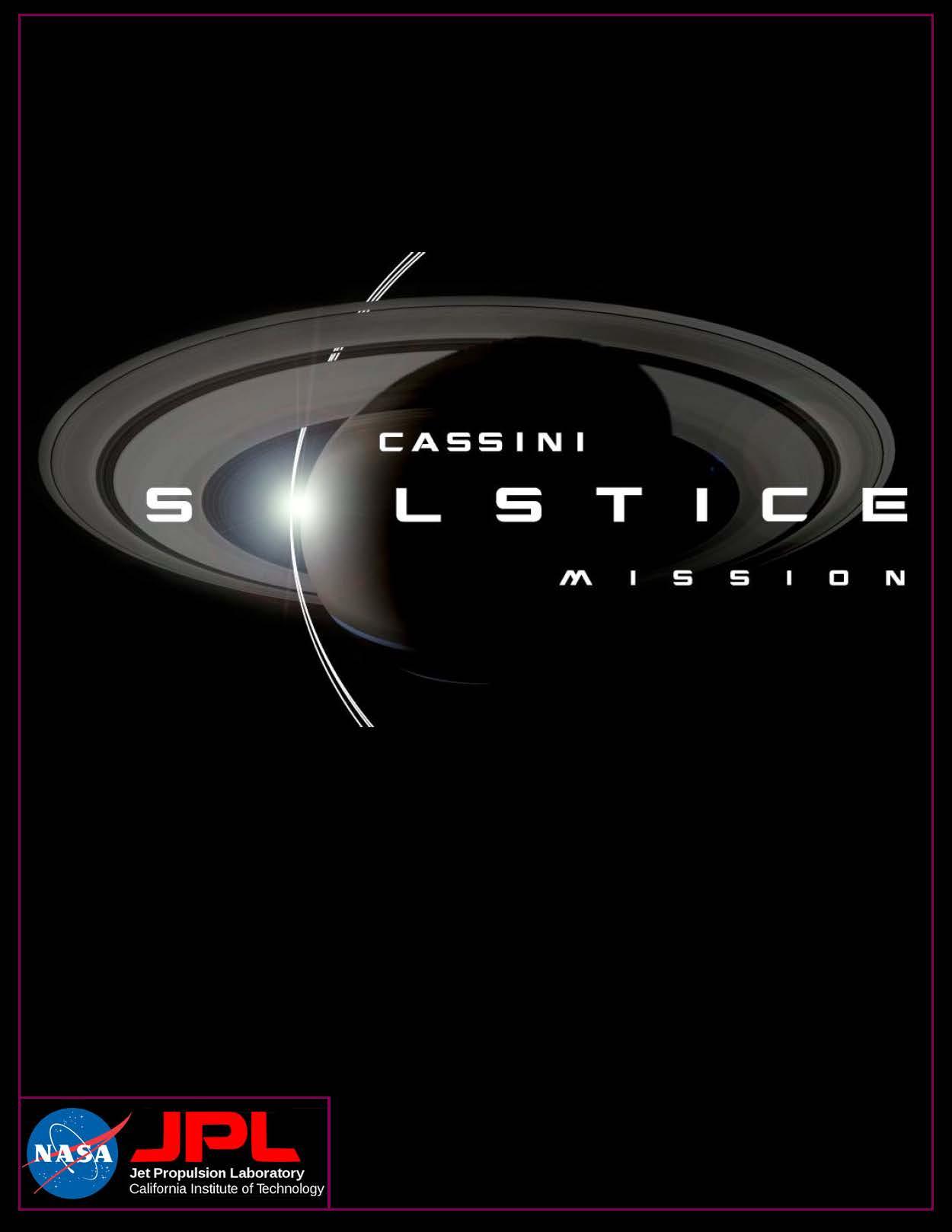 Cassini magazine article layout title page