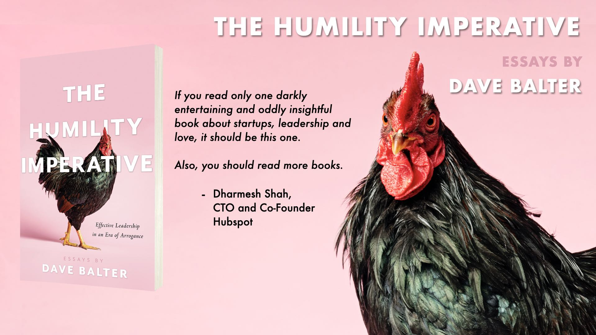 The Humility Imperative - Essays by Dave Balter