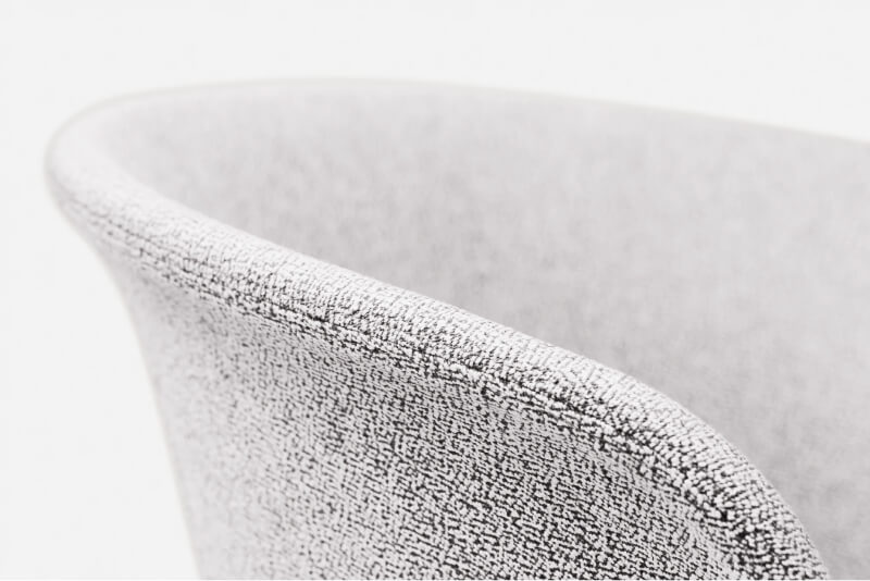 A close up of a beautiful sitting chair