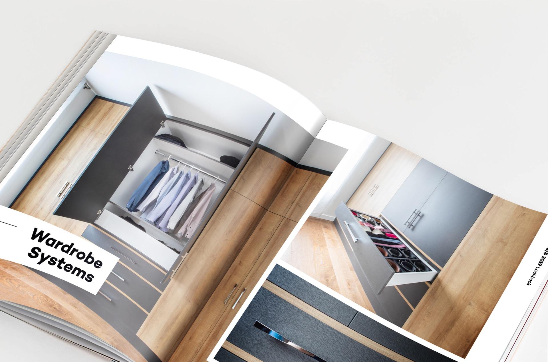 NIICO Lookbook interior page wardrobes