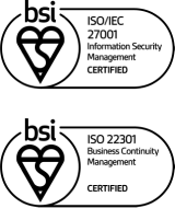 ISO 27001 and ISO 22301 Certification
