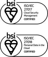 ISO 27017 and ISO 27018 Certification