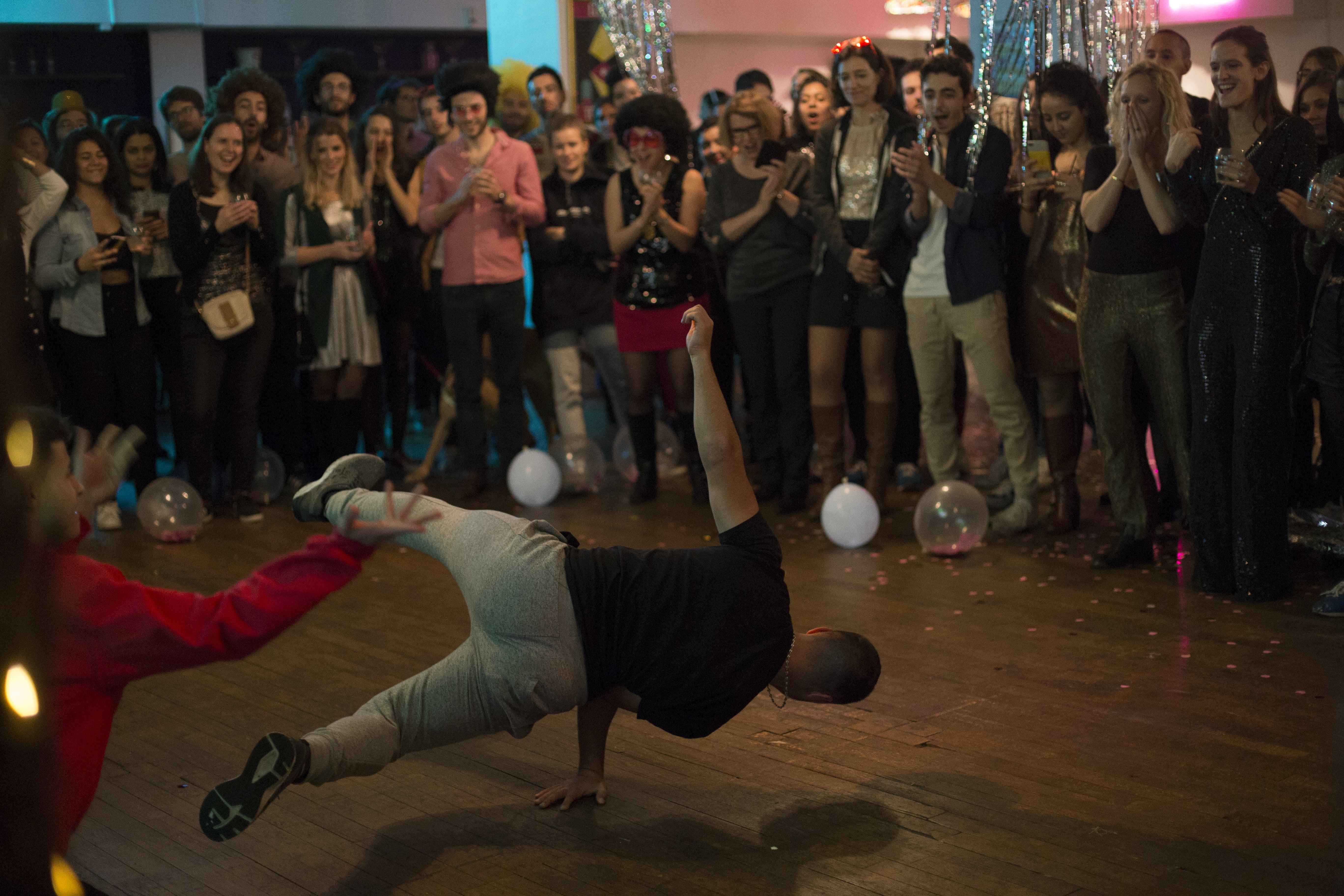 Spectacle hiphop breakdance soirée - Streetsmile