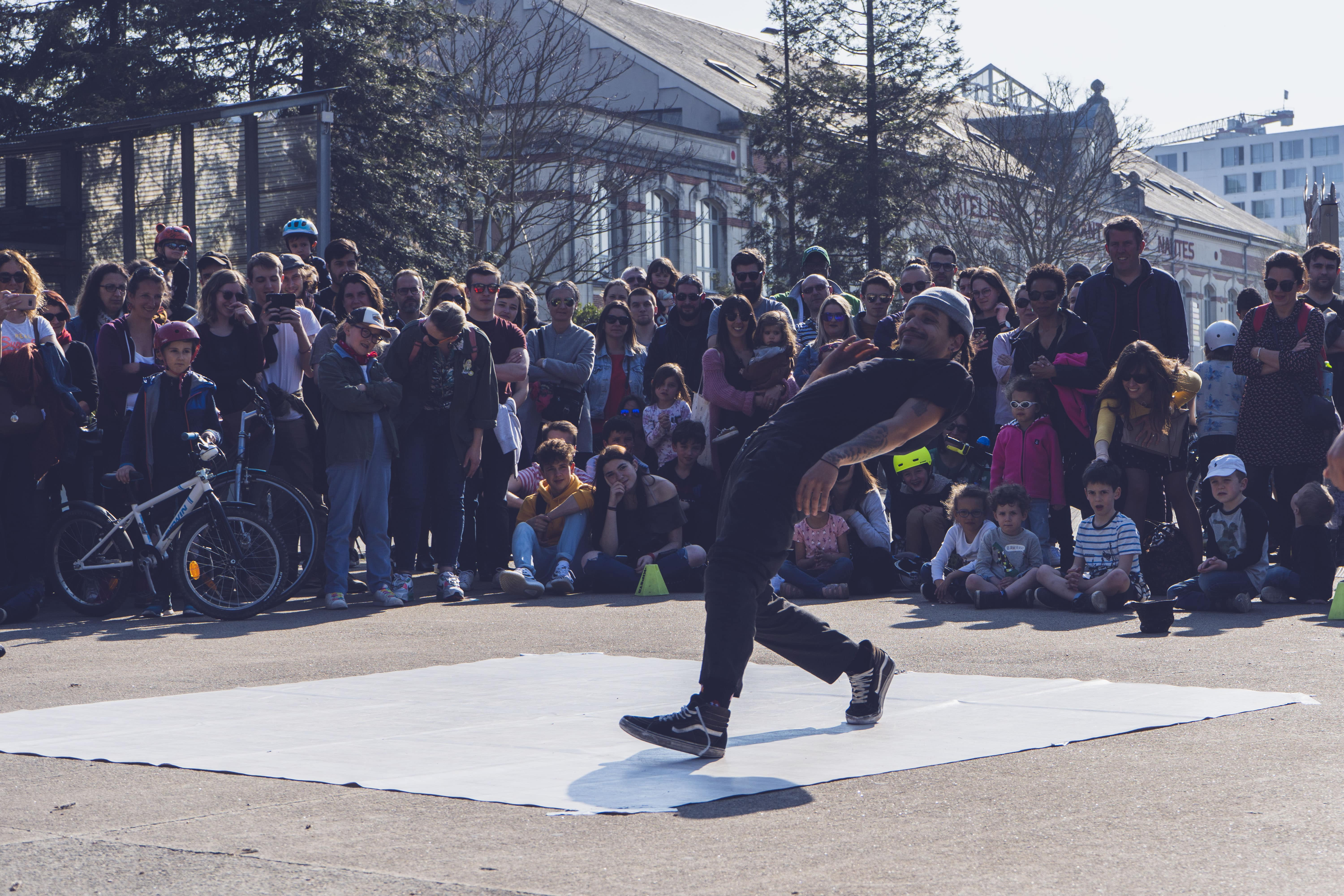 Spectacle hiphop Nantes - Streetsmile
