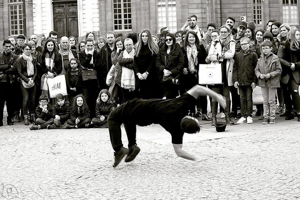 spectacle hiphop breakdance Bretagne
