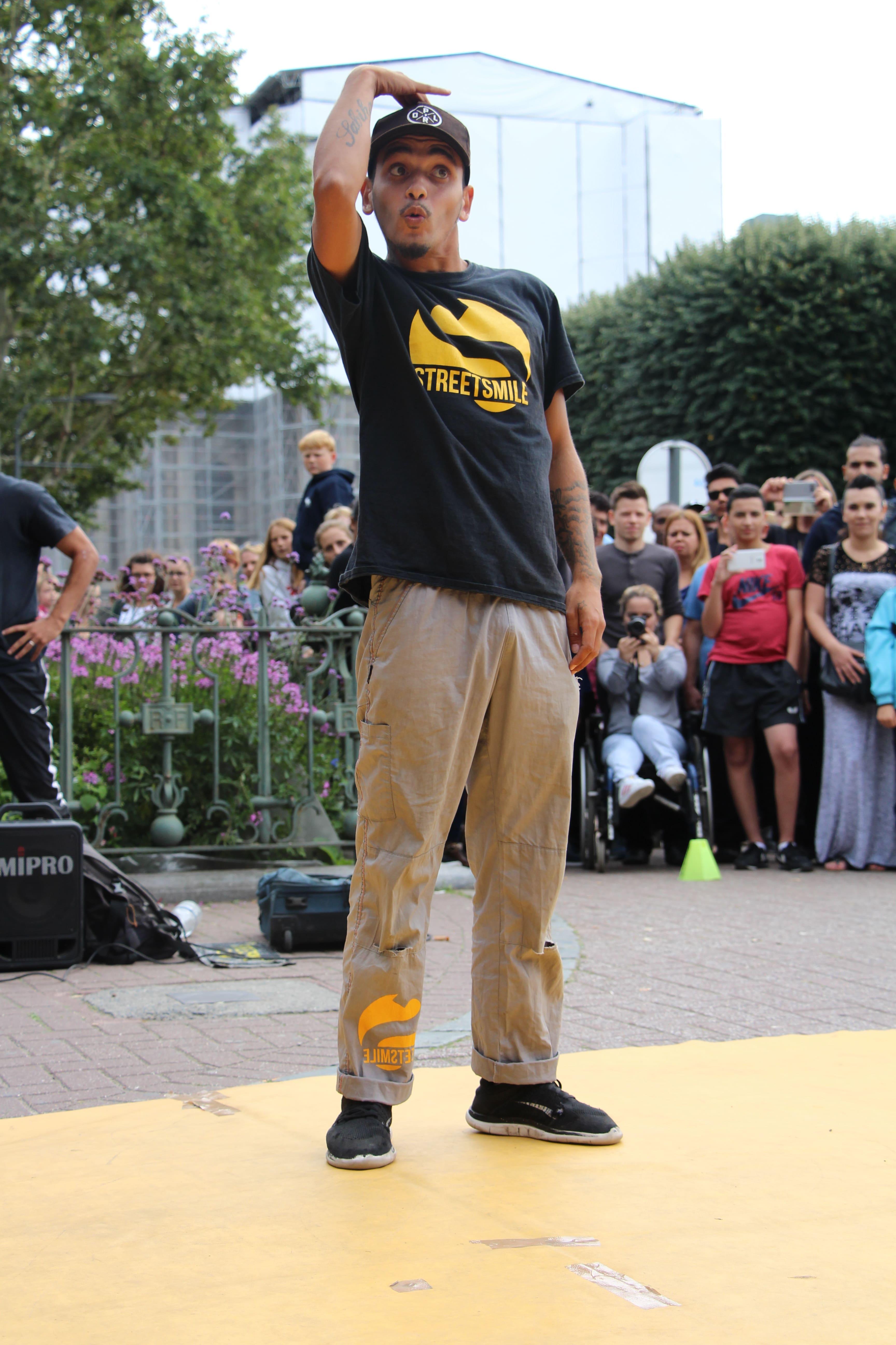 Hip-hop et humour événement - Streetsmile